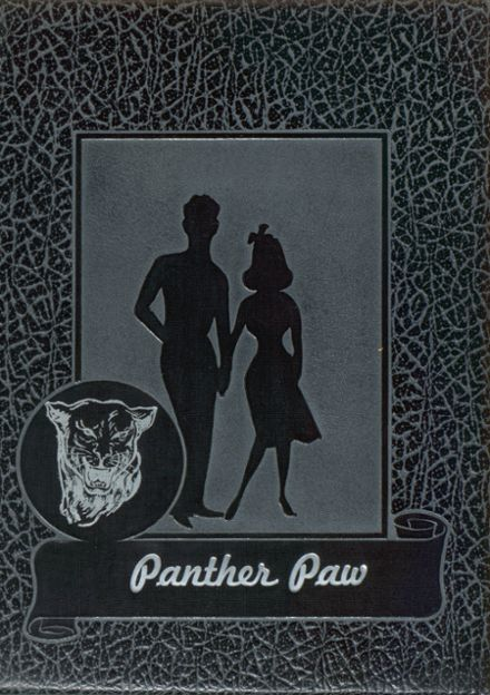 1957 Midway High School Yearbook Cover