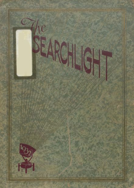 1932 Minot High School Yearbook Cover