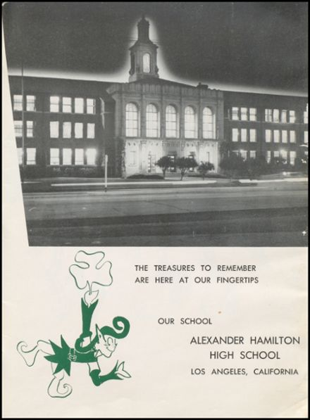 1958 Alexander Hamilton High School Yearbook Page 5