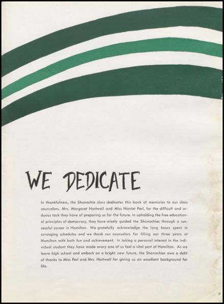 1958 Alexander Hamilton High School Yearbook Page 9