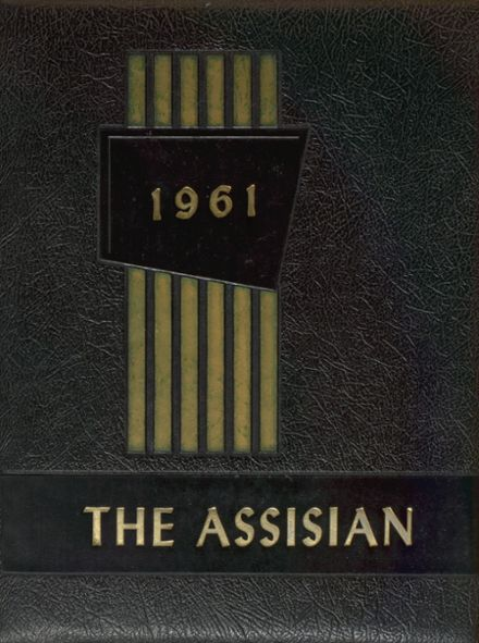 1961 Mt. Assisi Academy Yearbook Cover