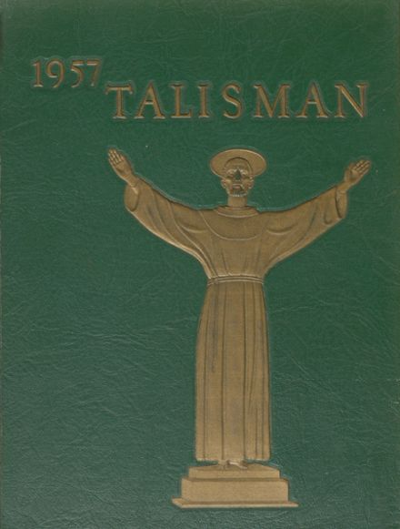 1957 Bishop Timon High School Yearbook Cover
