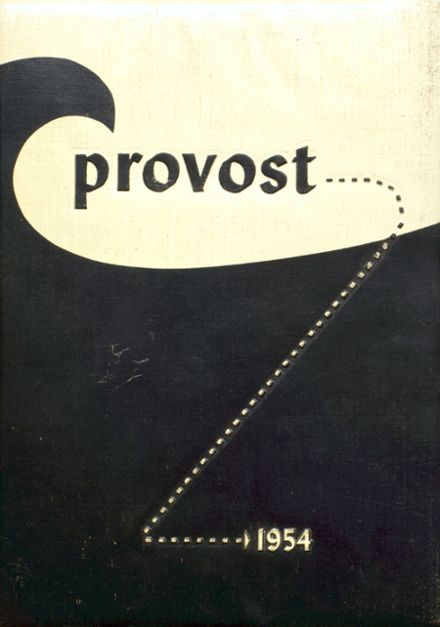 1954 Provo High School Yearbook Cover