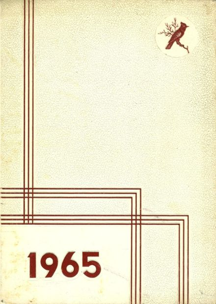 1965 Coldwater High School Yearbook Cover