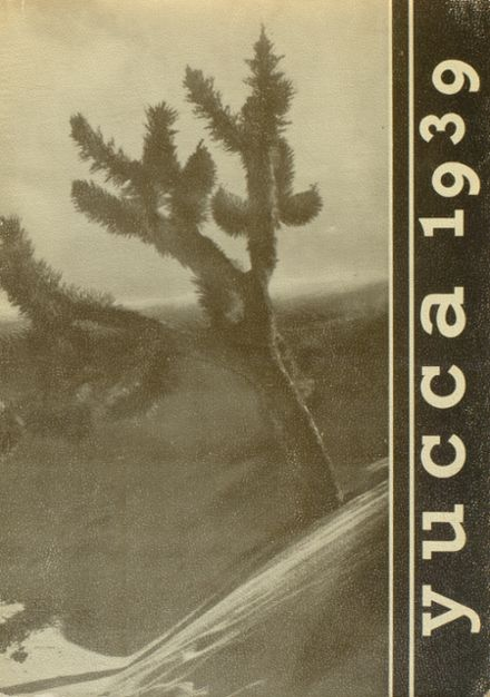 1939 Antelope Valley High School Yearbook Cover