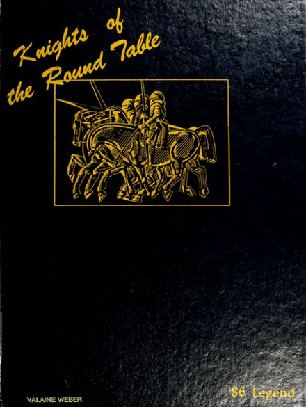 1986 East Noble High School Yearbook Cover