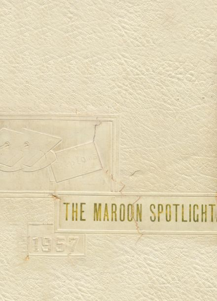 1957 Perry High School Yearbook Cover
