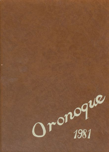 1981 Holy Cross High School Yearbook Cover