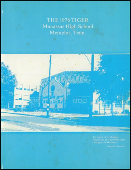 1976 Manassas High School Yearbook Page 5