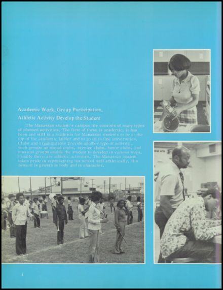 1976 Manassas High School Yearbook Page 8