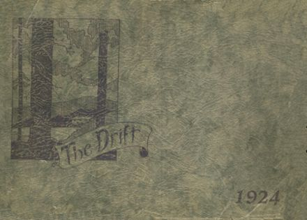 1924 Taylorville High School Yearbook Cover