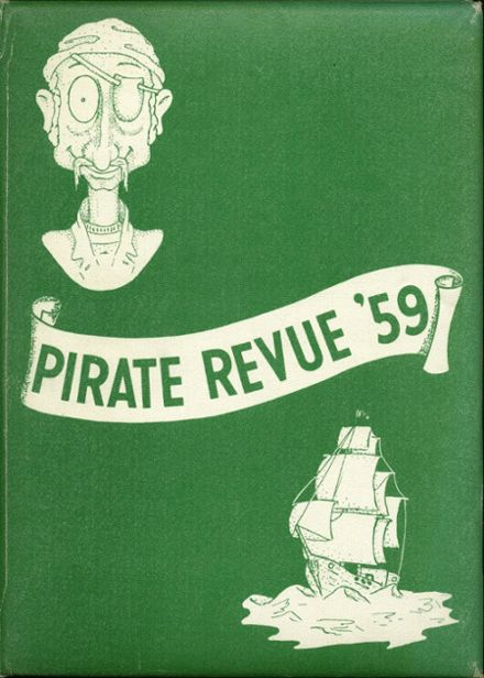 1959 Santa Ynez Valley Union High School Yearbook Cover