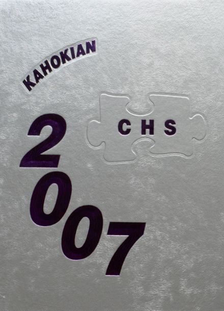 2007 Collinsville High School Yearbook Cover