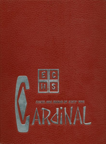 1969 East Central High School Yearbook Cover