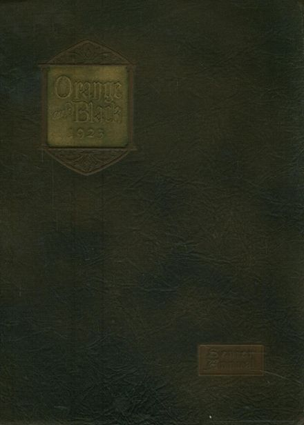 1923 Middletown High School Yearbook Cover