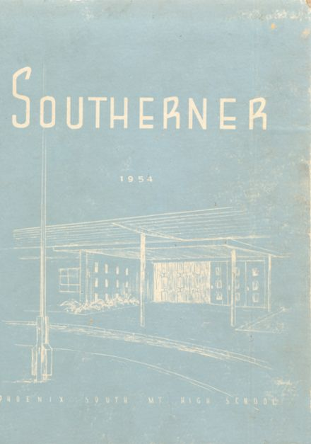 1954 South Mountain High School Yearbook Cover
