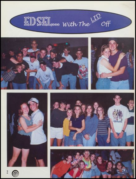 1995 Edsel Ford High School Yearbook Page 6