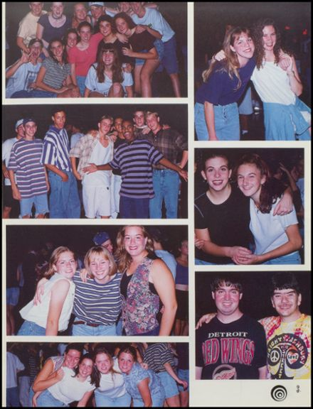 1995 Edsel Ford High School Yearbook Page 7