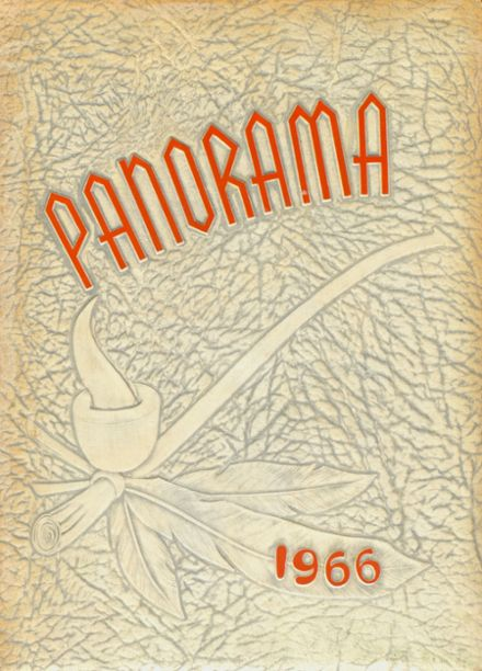 1966 North Cobb High School Yearbook Cover
