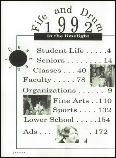 1992 Chattanooga Arts & Sciences High School Yearbook Page 6