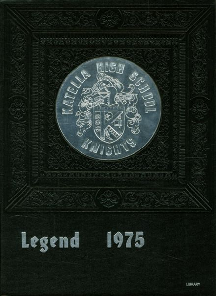 1975 Katella High School Yearbook Cover