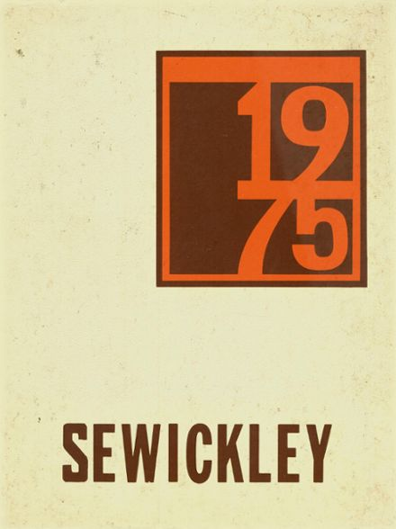 1975 Sewickley High School Yearbook Cover