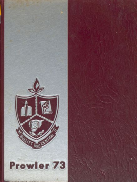 1973 Bullitt Central High School Yearbook Cover