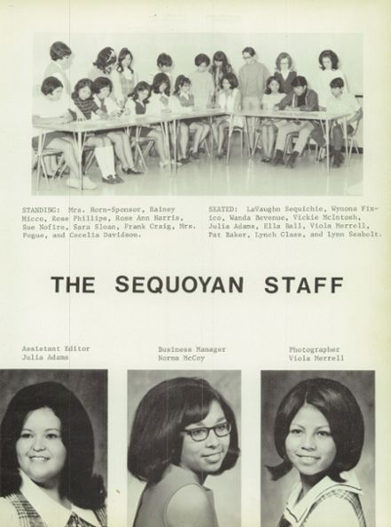 1970 Sequoyah High School Yearbook Page 7
