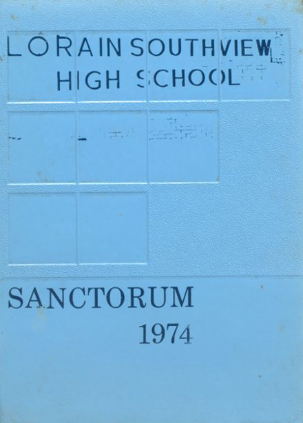 1974 Southview High School Yearbook Cover