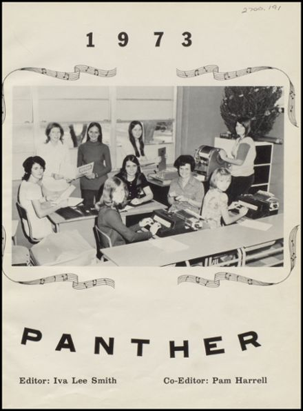 1973 Mulhall-Orlando High School Yearbook Page 5