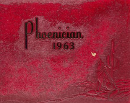 1963 Phoenix Union High School Yearbook Cover