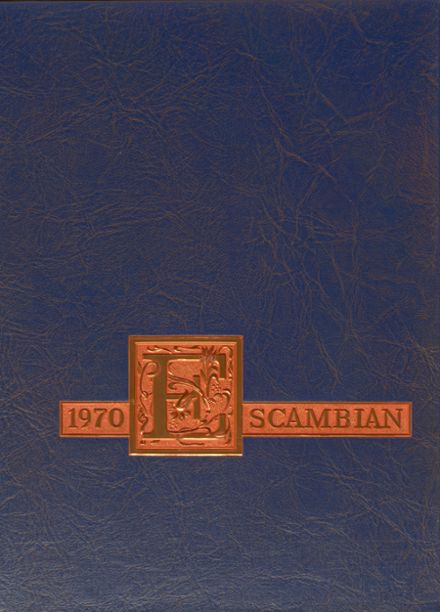 1970 Escambia High School Yearbook Cover