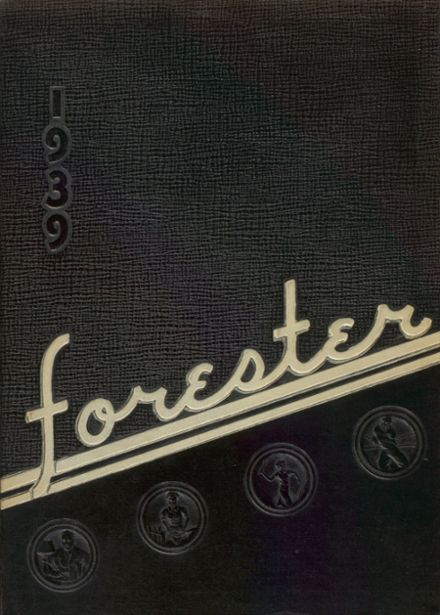 1939 Forest Avenue High School Yearbook Cover