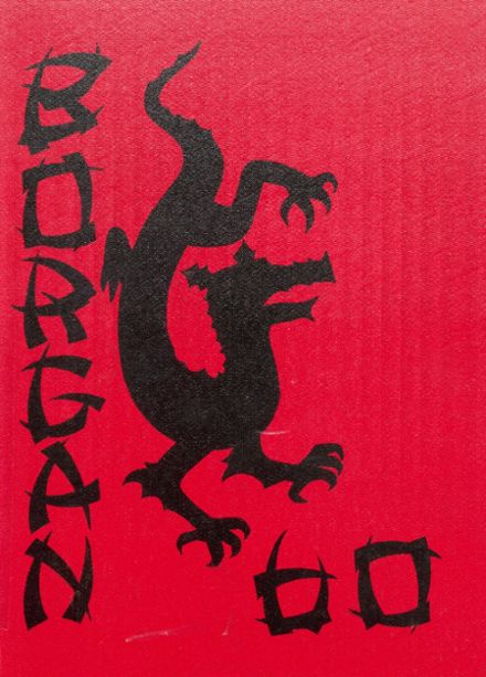 1960 Borger High School Yearbook Cover