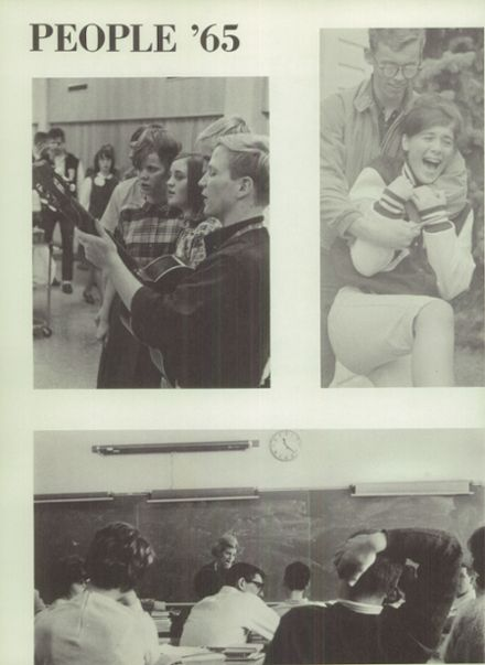 1965 Ferndale High School Yearbook Page 8