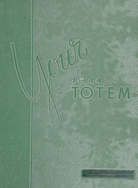 1944 South Side High School Yearbook Cover