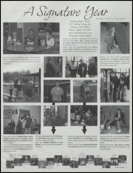 2002 Shelton High School Yearbook Page 5
