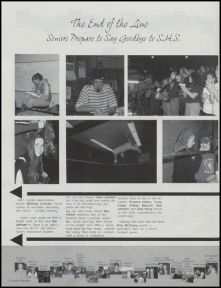 2002 Shelton High School Yearbook Page 8