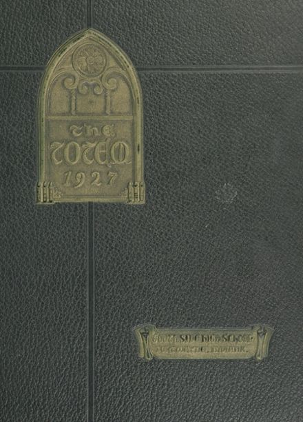 1927 South Side High School Yearbook Cover
