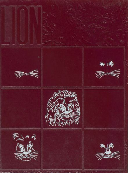 1977 Jefferson Moore High School Yearbook Cover