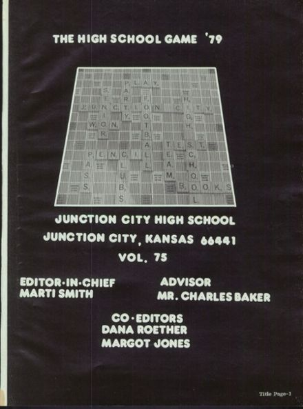 1979 Junction City High School Yearbook Page 5
