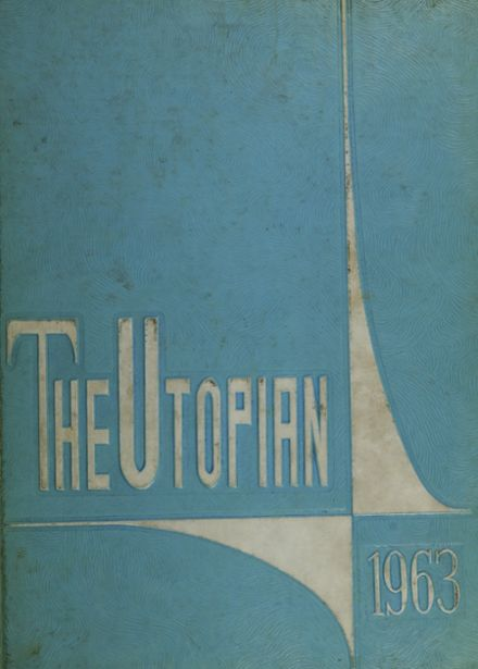 1963 Union High School Yearbook Cover