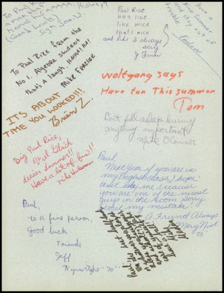 1970 John F. Kennedy Memorial High School Yearbook Page 4