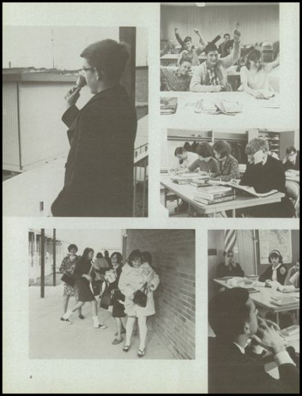 1970 John F. Kennedy Memorial High School Yearbook Page 8