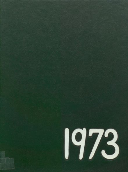 1973 New Milford High School Yearbook Cover