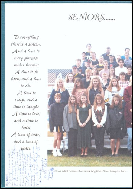 1997 Rosholt High School Yearbook Page 2