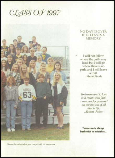 1997 Rosholt High School Yearbook Page 3