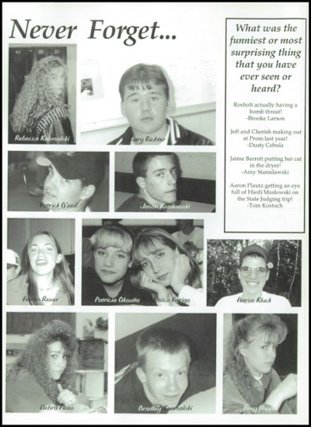 1997 Rosholt High School Yearbook Page 8