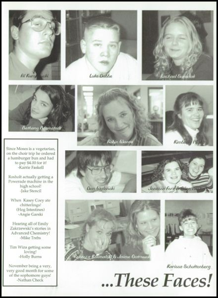1997 Rosholt High School Yearbook Page 9