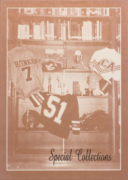 1995 Ider High School Yearbook Cover